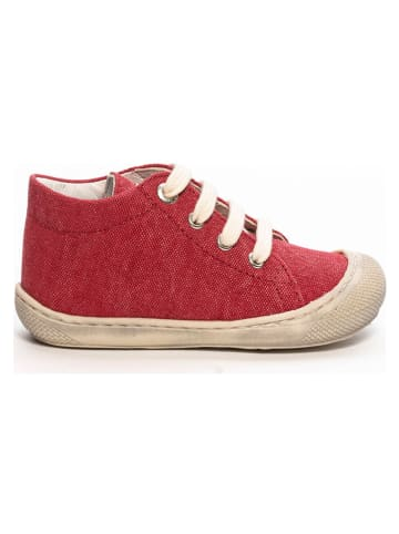 Naturino Buty w kolorze czerwonym do nauki chodzenia