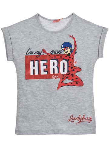 "Miraculous Koszulka ""Ladybug"" w kolorze szarym"