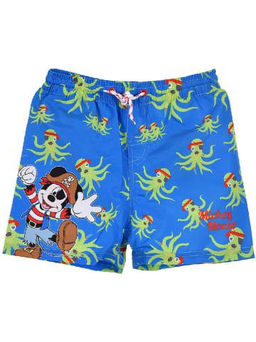"""Disney Mickey Mouse Szorty kąpielowe """"Mickey Mouse"""" w kolorze niebieskim"""