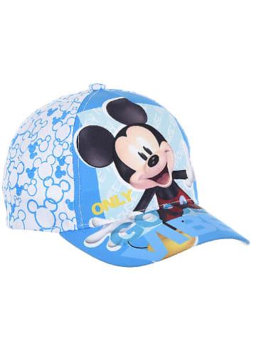 """Disney Mickey Mouse Czapka """"Mickey Mouse"""" w kolorze turkusowo-białym"""