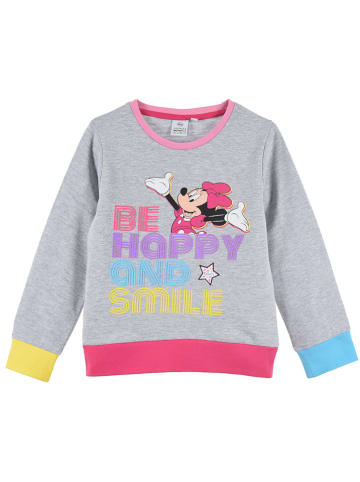 """Disney Minnie Mouse Bluza """"Minnie Mouse"""" w kolorze szarym ze wzorem"""