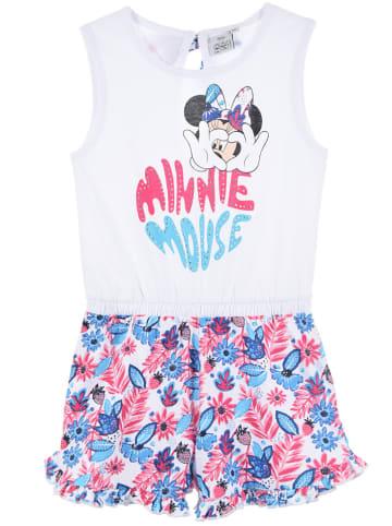 """Disney Minnie Mouse Kombinezon """"Minnie Mouse"""" w kolorze biało-różowo-błękitnym"""