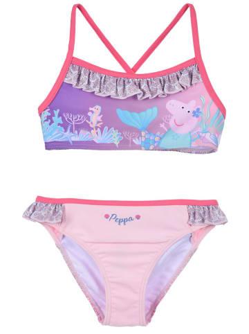 """Peppa Pig Bikini """"Peppa Pig"""" w kolorze lawendowo-jasnoróżowym"""