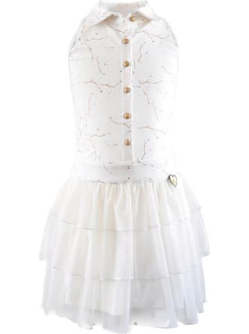Lofff Kleid in Weiß/ Gold
