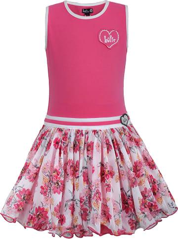 Lofff Sukienka w kolorze różowym