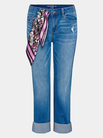 Orsay Dżinsy w kolorze niebieskim