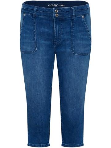 Orsay Capri-spijkerbroek blauw