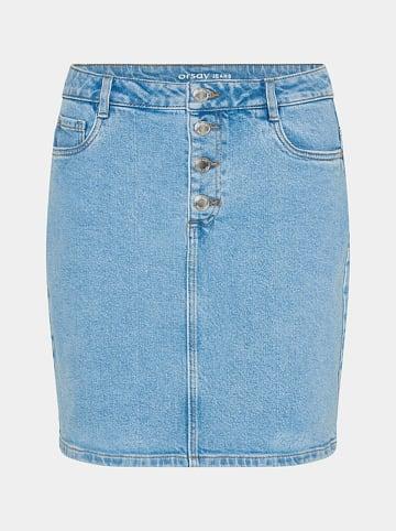 Orsay Spódnica dżinsowa w kolorze błękitnym