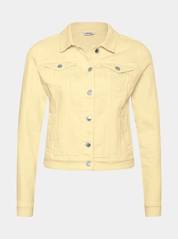 Orsay Kurtka dżinsowa w kolorze żółtym