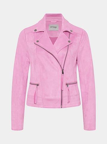 Orsay Kurtka przejściowa w kolorze różowym