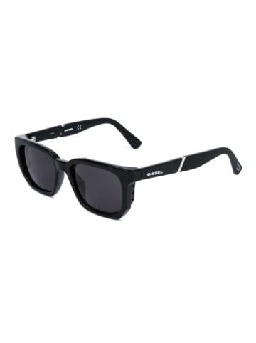 """Diesel Okulary przeciwsłoneczne """"DL0257"""" w kolorze czarnym"""