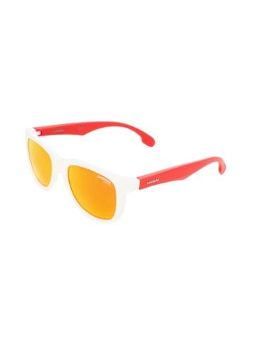 """Carrera Okulary przeciwsłoneczne """"CARRERINO 20"""" w kolorze czerwono-białym"""