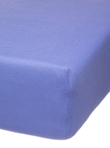 Avance Jersey-Spannbettlaken in Blau