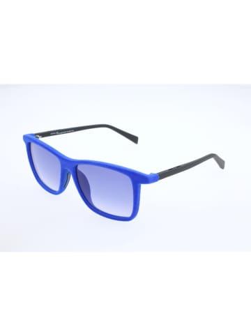 Italia Independent Kinderzonnebril blauw/zwart