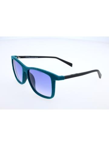 Italia Independent Dziecięce okulary przeciwsłoneczne w kolorze zielono-czarnym