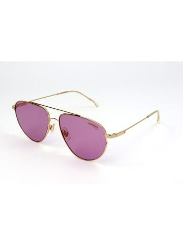 Carrera Dziecięce okulary przeciwsłoneczne w kolorze złotym