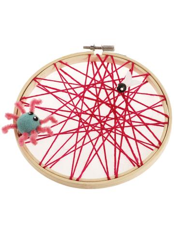 SUNNYSUE Tamborek w kolorze beżowym do haftu