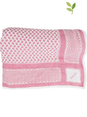 Kikadu Tuch in Pink - (L)115 x (B)115 cm