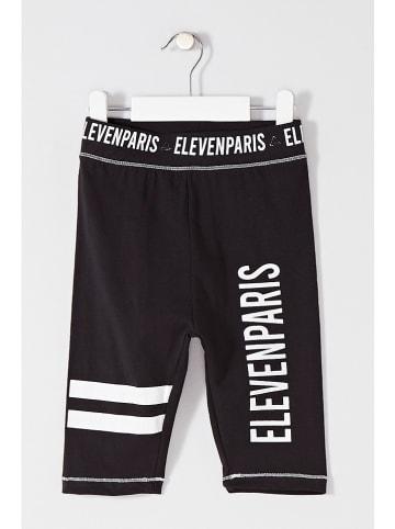 Little elevenparis. Legginsy w kolorze czarnym