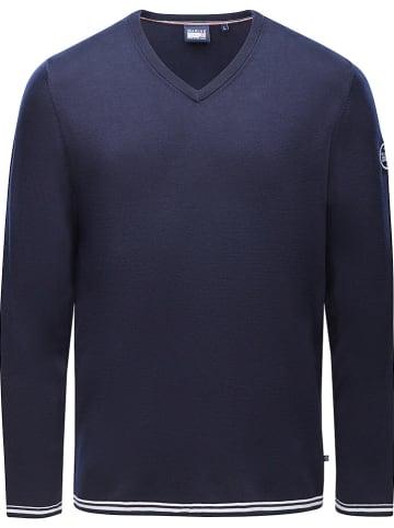 MARINEPOOL Sweter w kolorze granatowym