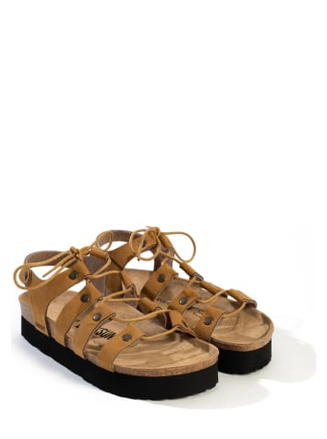 "BACKSUN Sandalen ""Manos"" lichtbruin"