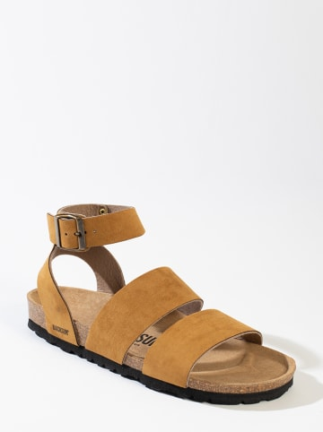 "BACKSUN Sandalen ""Asubcion"" camel"