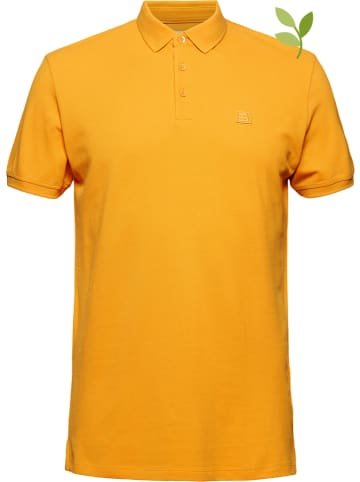 ESPRIT Poloshirt geel