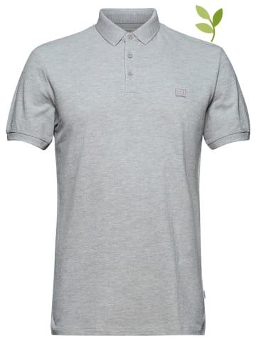 ESPRIT Koszulka polo w kolorze szarym