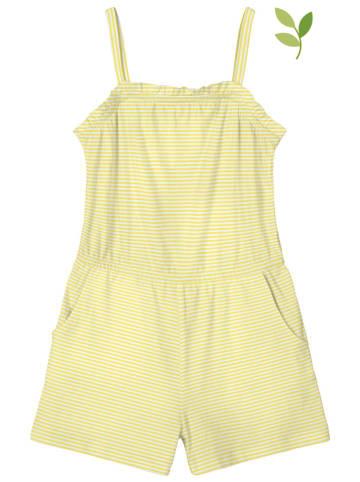 "Name it Jumpsuit ""Vinanna"" geel/wit"