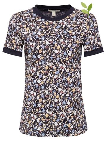 ESPRIT Shirt donkerblauw/meerkleurig