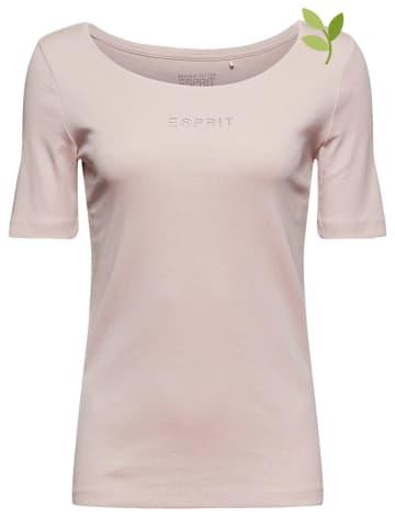 ESPRIT Shirt lichtroze