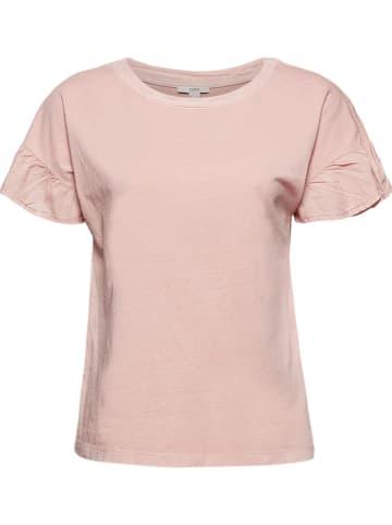 ESPRIT T-shirt w kolorze jasnoróżowym