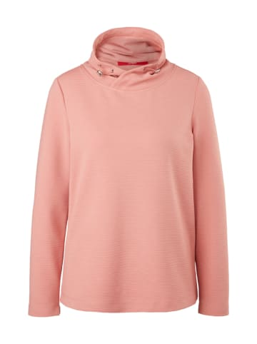 S.OLIVER RED LABEL Sweatshirt in Rosa