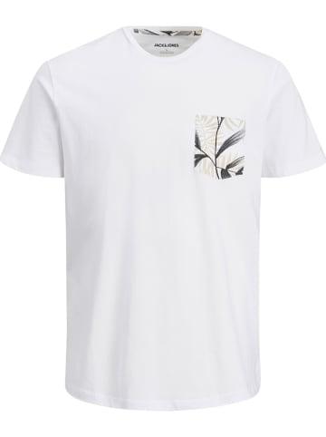 """Jack & Jones Koszulka """"Pock"""" w kolorze białym"""