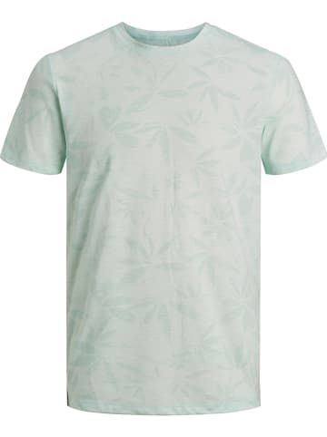 "Jack & Jones Shirt ""Floral"" lichtgroen"