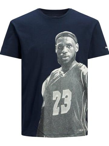 """Jack & Jones Shirt """"Legends"""" donkerblauw"""