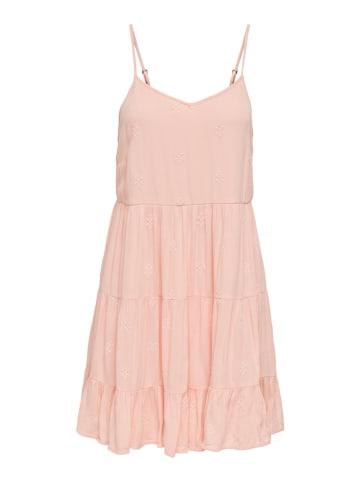 """ONLY Sukienka """"Elisa"""" w kolorze jasnoróżowym"""