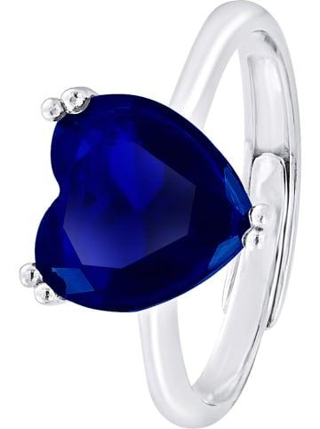 Wishlist Zilveren ring met kristal