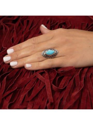 """AMAZONIA Zilveren ring """"Ayaymama"""" met edelsteen"""