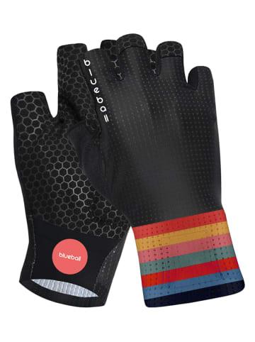 BlueBall Fietshandschoenen zwart/meerkleurig