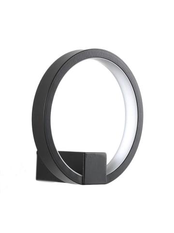 Tomasucci Lampa ścienna LED w kolorze czarnym - Ø 15 cm