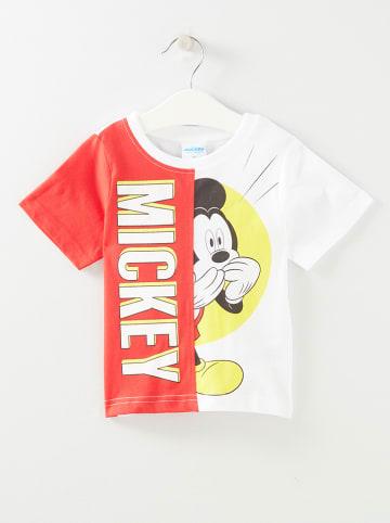 """Disney Mickey Mouse Koszulka """"Mickey"""" w kolorze czerwonym"""