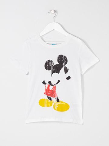 """Disney Mickey Mouse Koszulka """"Mickey"""" w kolorze białym"""