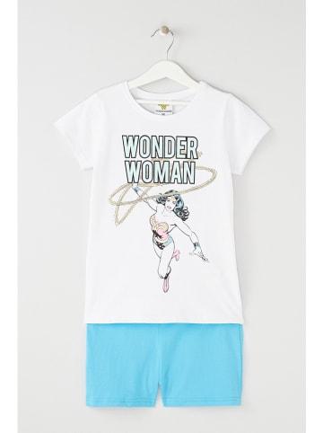 "WONDER WOMAN 2-delige outfit ""Wonder Woman"" wit"