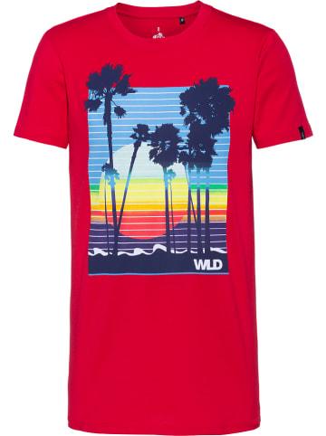 WLD Shirt rood