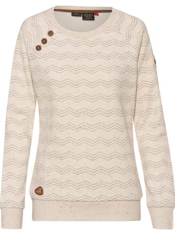 "Ragwear Sweatshirt ""Daria"" beige"