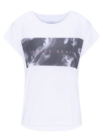 "Venice Beach Trainingsshirt ""Tiana"" in Weiß"