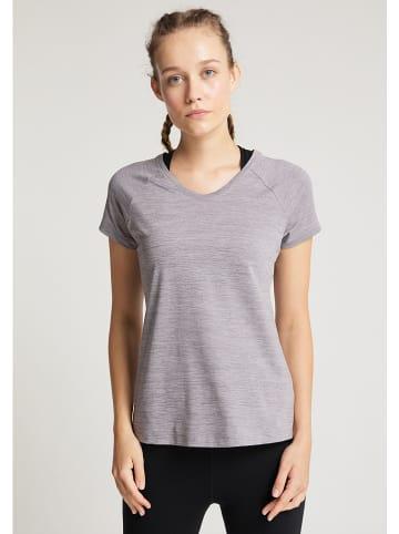"""Venice Beach Koszulka sportowa """"Derya"""" w kolorze szarym"""