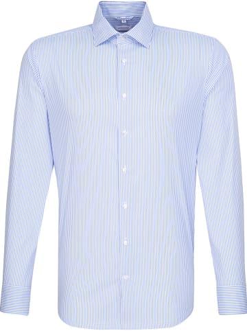 Seidensticker Koszula - Slim fit - w kolorze błękitno-białym