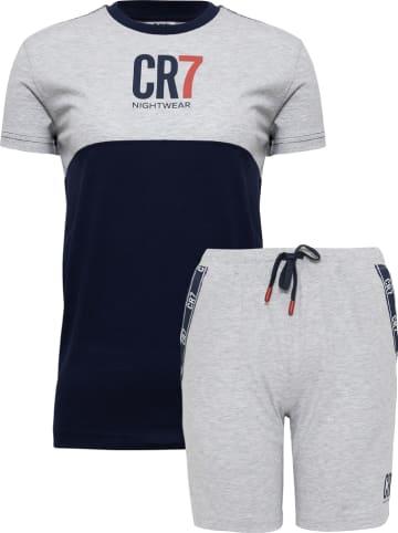 CR7 Pyjama blauw/grijs